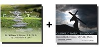 Bundle: 10 Principles of Catholic Social Thought + Catholic Moral Theology - 14 CDs Total-0