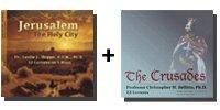 Audio Bundle: Jerusalem: The Holy City + The Crusades - 10 CDs Total-0