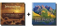 Video-Audio Bundle: Jerusalem: The Holy City + A Retreat with the Psalms - 9 Discs Total-0