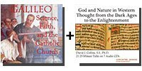 Audio/Video Bundle Galileo: Science, Faith, and the Catholic Church + God and Nature in Western Thought from the Dark Ages to the Enlightenment - 12 discs Total-0