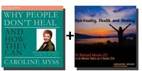 Audio Bundle: Why People Don't Heal and How They Can + Spirituality, Health and Healing - 9 CDs Total-0