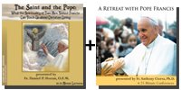 Video Bundle: The Saint and the Pope + A Retreat with Pope Francis - 8 DVDs Total-0