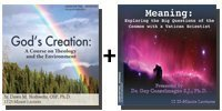 Audio Bundle: God's Creation: A Course on Theology and the Environment + Meaning: Exploring the Big Questions of the Cosmos with a Vatican Scientist - 10 CDs Total-0