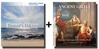 Audio Bundle: Homer's Odyssey + Ancient Greece - 10 CDs Total-0