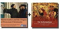 Audio Bundle: Martin Luther and the Origins of Protestant Christianity + The Reformations - 8 CDs Total-0