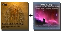 Audio Bundle: Exploring Catholic Theology + Meaning: Exploring the Big Questions of the Cosmos with a Vatican Scientist - 13 CDs Total-0