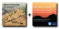 Video Bundle: Biblical Archaeology + The Holy Land: A Pilgrimage through the Footsteps of Jesus - 8 DVDs Total-0
