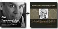 Audio Bundle: Thomas Merton's Great Sermons and Reflections + A Retreat with Thomas Merton - 5 CDs Total-0