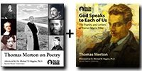 """Audio Bundle: Thomas Merton on Poetry + """"God Speaks to Each of Us"""": The Poetry and Letters of Rainer Maria Rilke - 12 CDs Total-0"""
