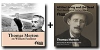 """Audio Bundle: Thomas Merton on William Faulkner + """"All the Living and the Dead"""": The Literature of James Joyce - 7 CDs Total-0"""