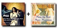 Audio/Video Bundle: Mary: Mirror of God Who Sees, Hears, Cares, and Comes + Meet the Real Mary Magdalene - 7 Discs Total-0