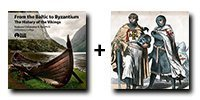 Audio Bundle: The History of the Vikings: From the Baltic to Byzantium + The Crusades - 13 CDs Total-0