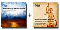 Audio Bundle: The Psychology of Good and Evil + Nature, Goodness, and God: The History of Natural Law Theory - 9 CDs Total-0