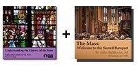 Video-Audio Bundle: Understanding the History of the Mass + The Mass: Welcome to the Sacred Banquet - 8 discs Total-0