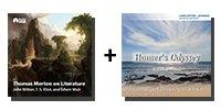 Video-Audio Bundle: Thomas Merton on Literature: John Milton, T. S. Eliot, and Edwin Muir + Homer's Odyssey - 21 Lectures Total-0