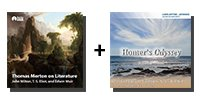 Audio Bundle: Thomas Merton on Literature: John Milton, T. S. Eliot, and Edwin Muir + Homer's Odyssey - 21 Lectures Total-0