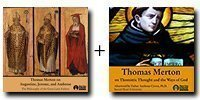 """Audio Bundle: Thomas Merton on Augustine, Jerome, and Ambrose + Thomas Merton on Thomistic Thought and """"The Ways of God"""" - 6 CDs Total-0"""