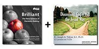 Audio Bundle: Brilliant: The New Science of Decision-Making + Discerning God's Will the Jesuit Way - 26 Lectures Total-0